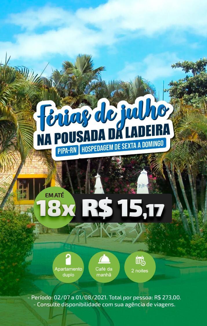 FÉRIAS DE JULHO EM PIPA/RN