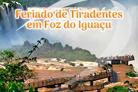 Feriado de Tiradentes em Foz do Iguaçu