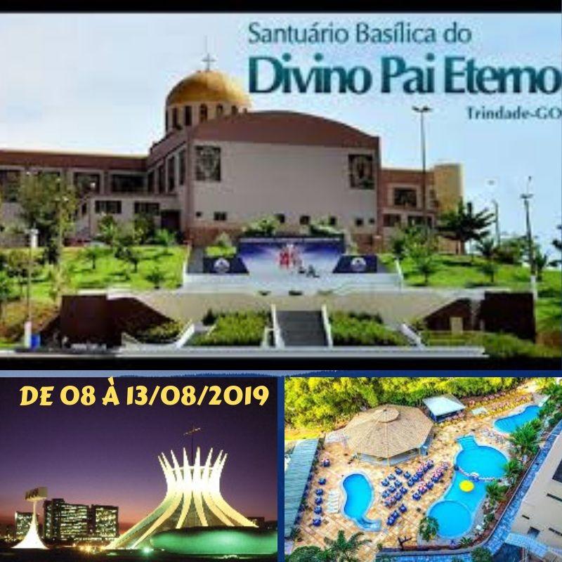 SANTUÁRIO DO DIVINO PAI ETERNO EM TRINDADE/GO